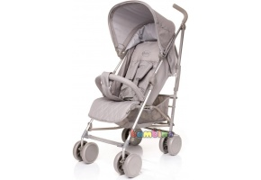 4BABY LE CAPRICE WÓZEK SPACEROWY LIGHT GREY