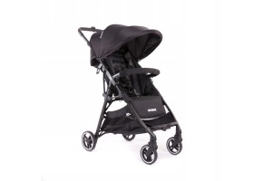 LEKKI WÓZEK SPACEROWY BABY MONSTERS KUKI BLACK