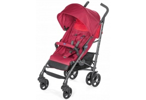 WÓZEK SPACEROWY CHICCO LITEWAY3 DO 22 KG, RED BERRY