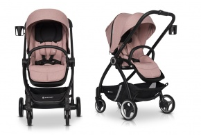 WÓZEK SPACEROWY EURO-CART CROX ROSE