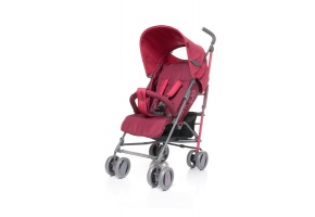 WÓZEK SPACEROWY PARASOLKA 4BABY SHAPE RED